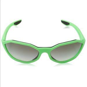 Prada Linea Rossa Matte Green Sunglasses